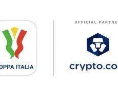 Criptovalute, il nuovo sponsor della Coppa Italia è Crypto.com