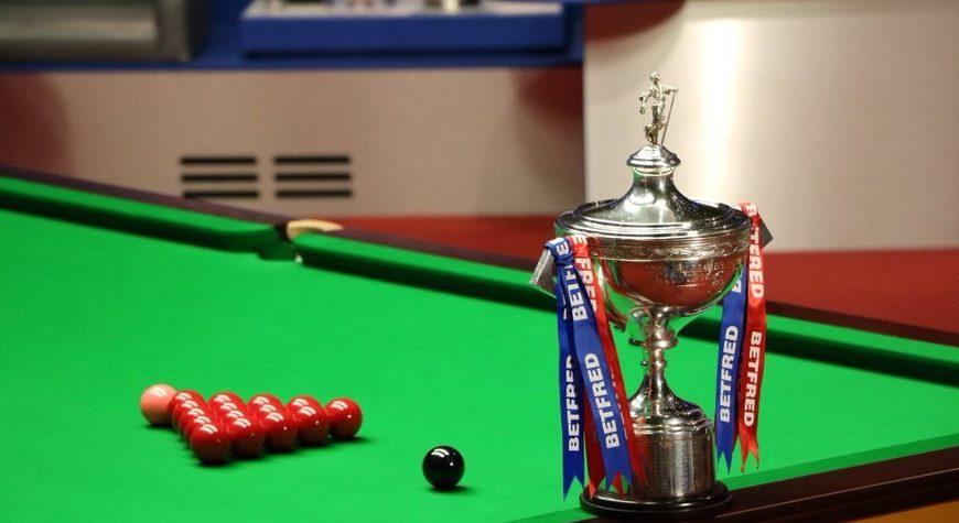 Il montepremi dei Mondiali di Snooker. 2,39 milioni da Betfred