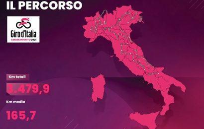 Premi, percorso e partecipanti del Giro d'Italia 2021