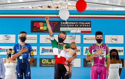 Ciclismo su strada: Sonny Colbrelli è il nuovo campione italiano