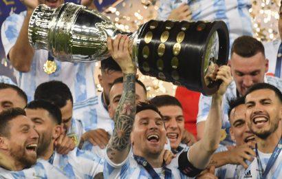 L'Argentina ha vinto la Coppa America 2021