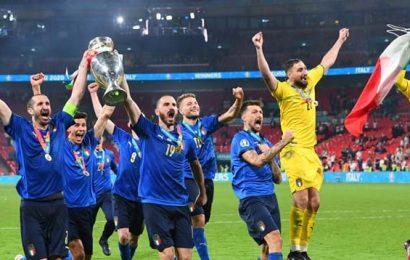 L'Italia è campione d'Europa. A Wembley gli azzurri battono l'Inghilterra ai rigori