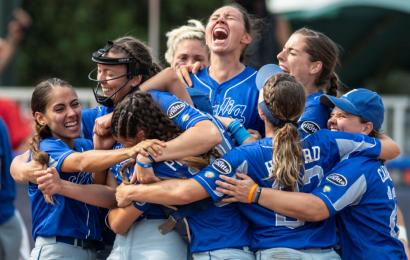 Softball, Italia campione d'Europa per la seconda volta consecutiva