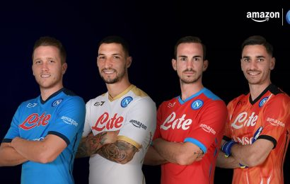 Amazon è il nuovo sponsor ufficiale di manica del Napoli
