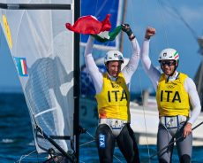 Vela, foiling Nacra 17: medaglia d'oro per Ruggero Tita e Caterina Banti