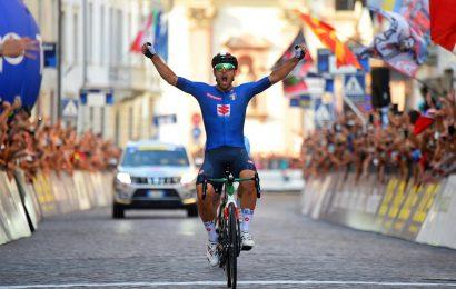 Sonny Colbrelli vince il Campionato Europeo di ciclismo